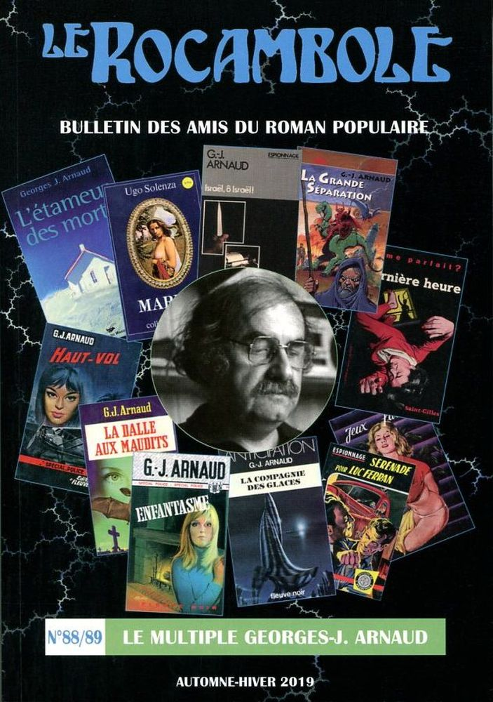 Le Rocambole n° 88/89 : Le multiple Georges-J. Arnaud