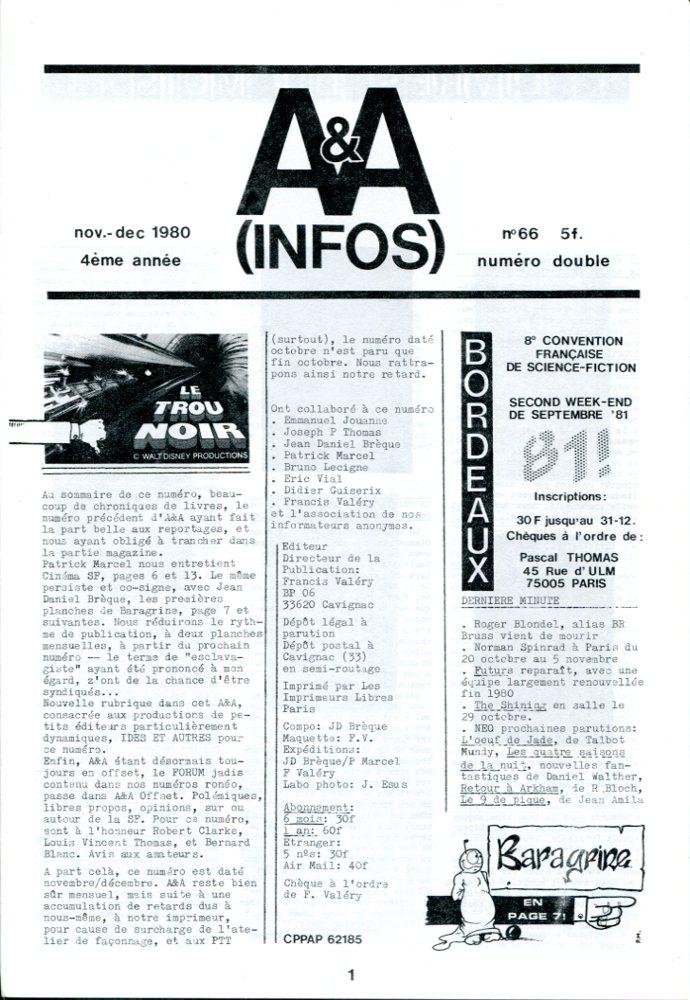A & A Infos n° 66