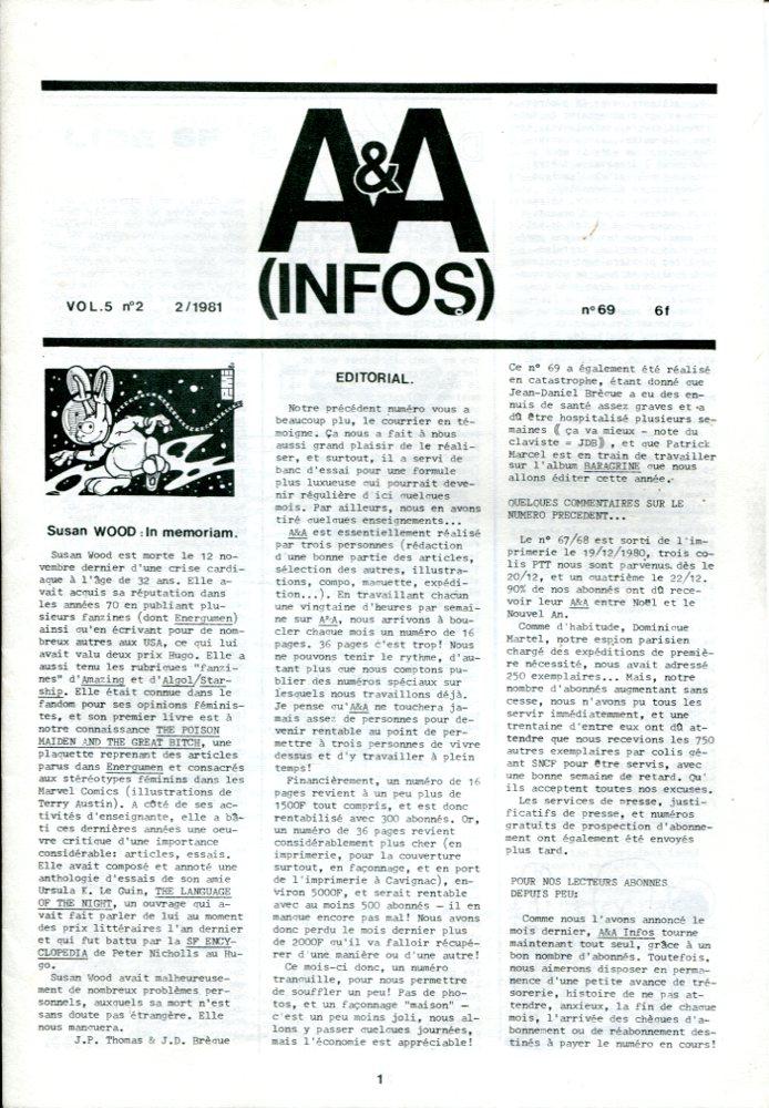 A & A Infos n° 69