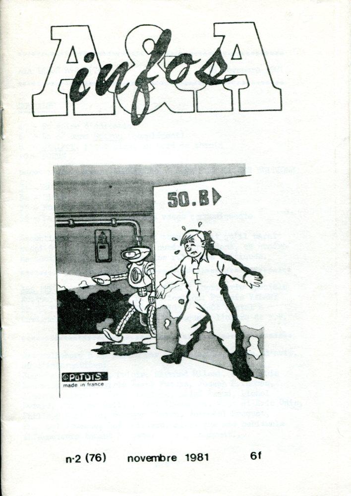 A & A Infos n° 2 (76)