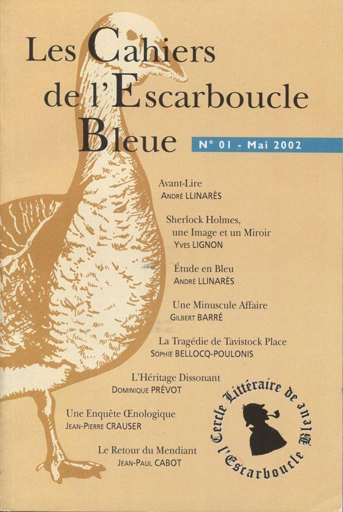 Les Cahiers de l'Escarboucle Bleue n° 1