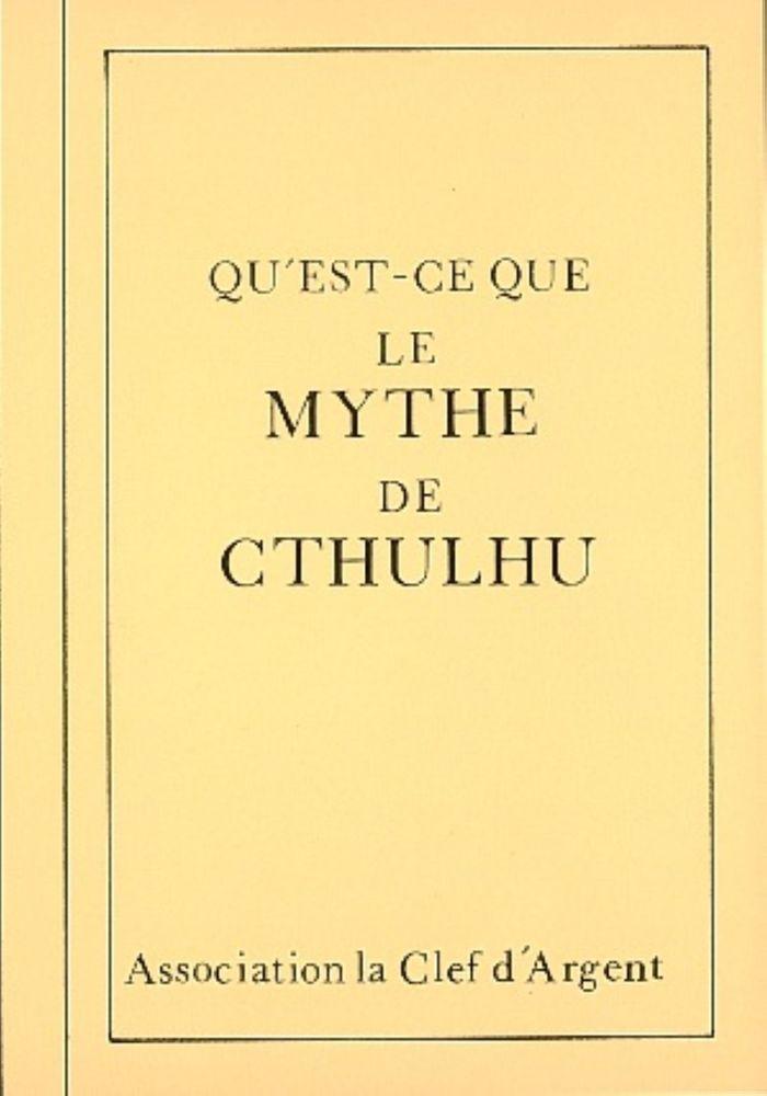 Le Cri Mécanique n° 3 bis : Qu'est-ce que le mythe de Cthulhu ?
