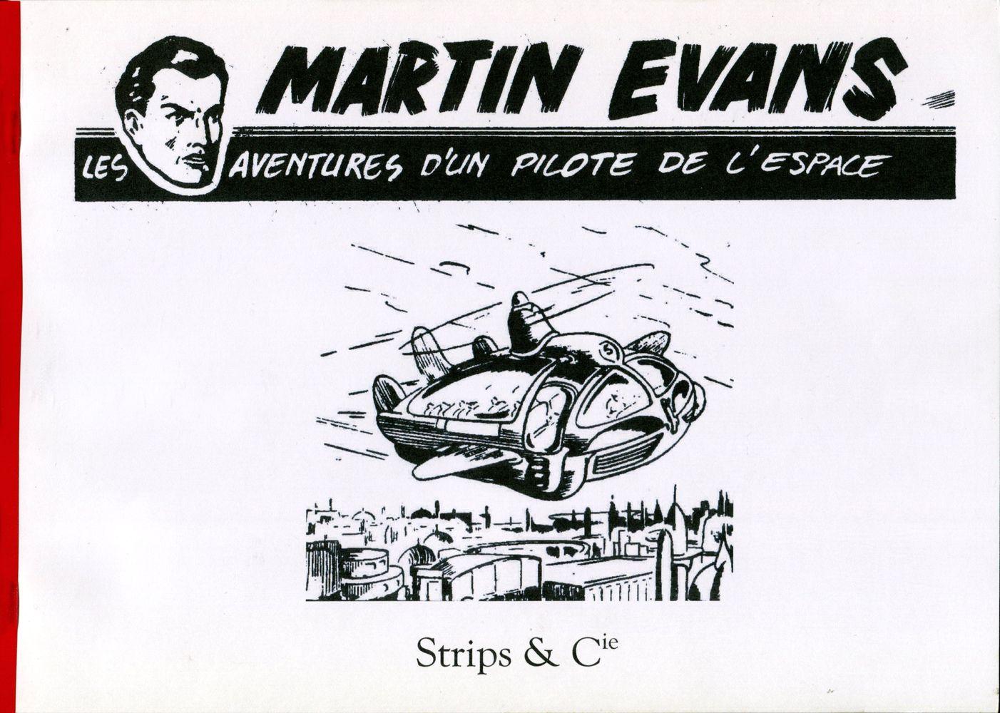 Martin Evans - Les Aventures d'un Pilote de l'Espace