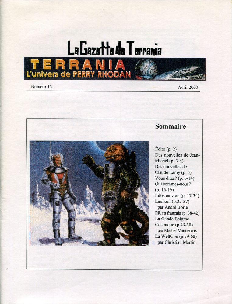 La Gazette de Terrania n° 15