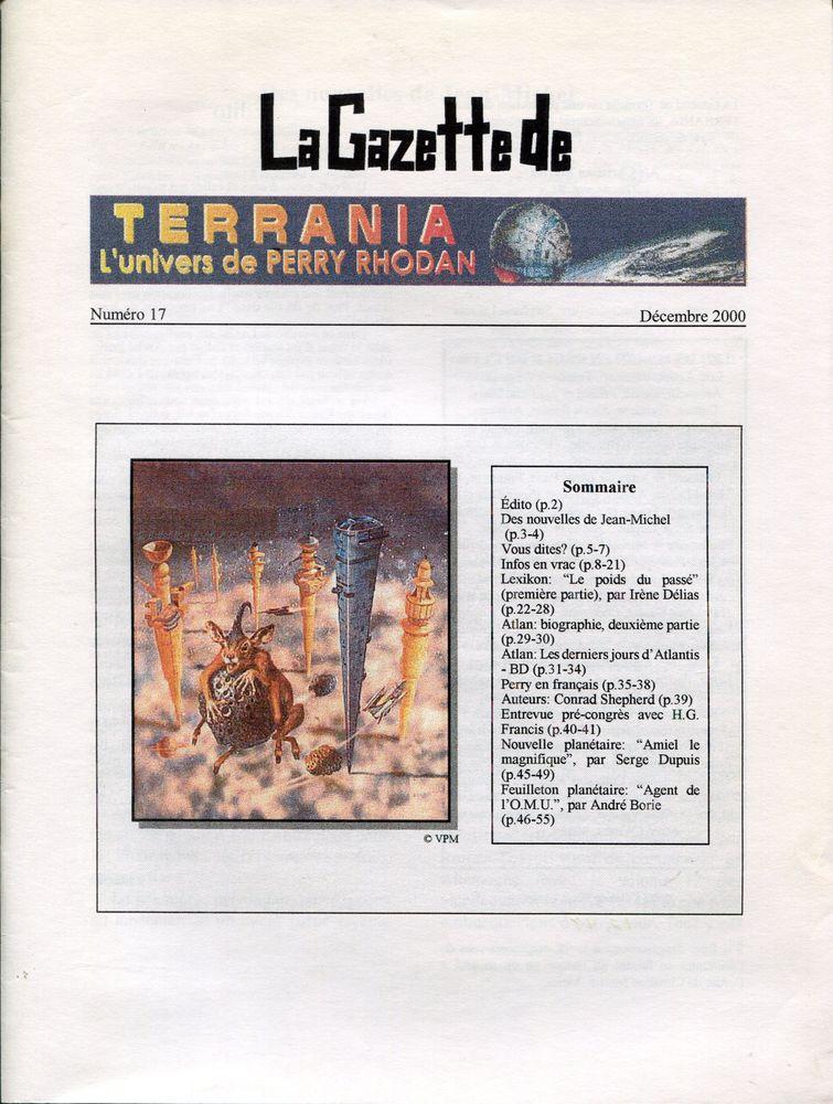 La Gazette de Terrania n° 17