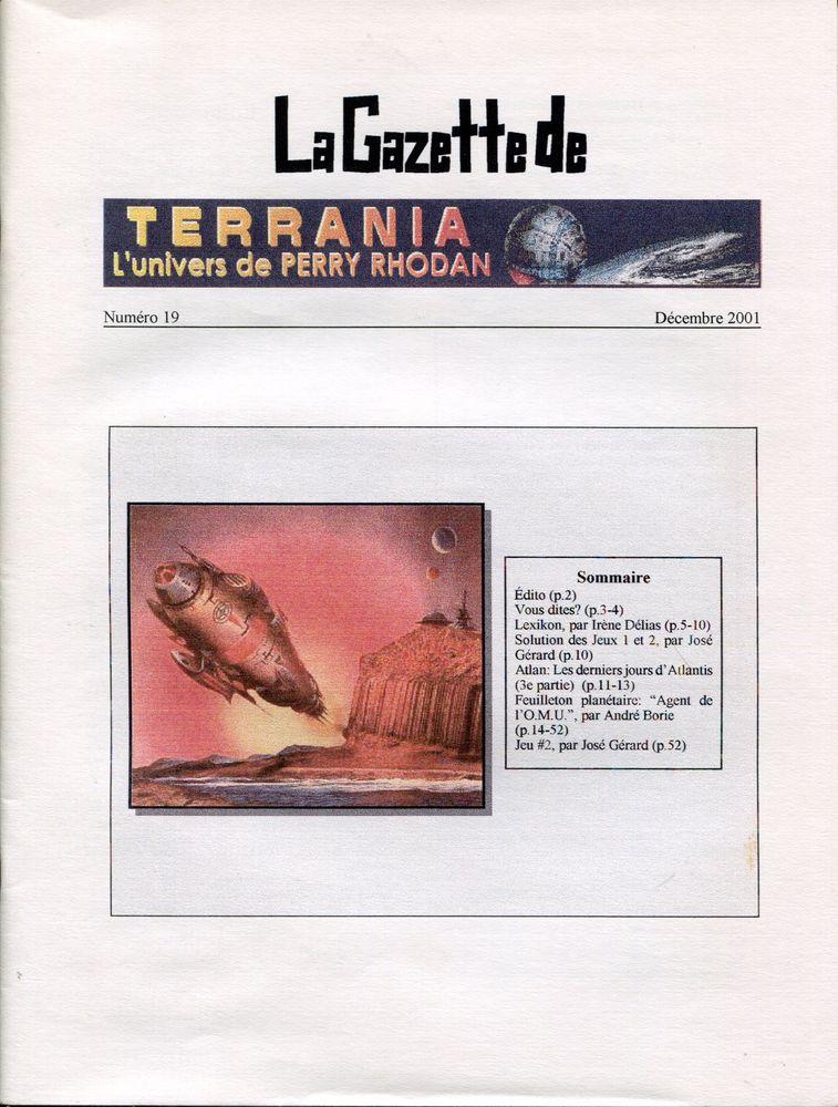La Gazette de Terrania n° 19