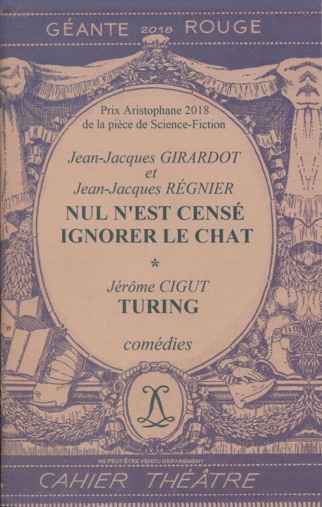 Géante Rouge n° 26 - Cahier D : Théâtre