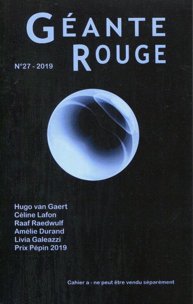 Géante Rouge n° 27 - Cahier A