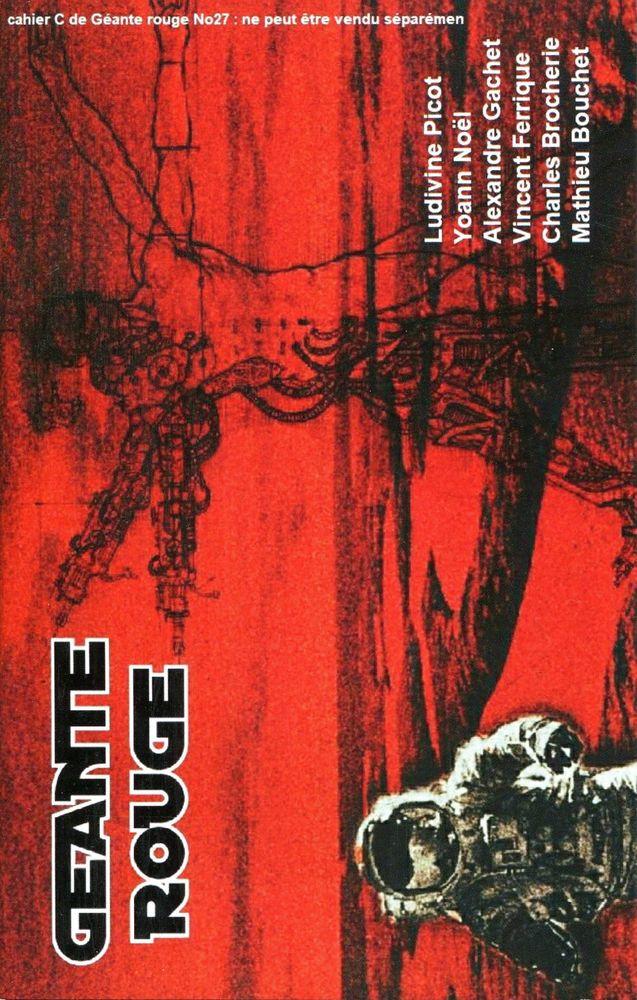 Géante Rouge n° 27 - Cahier C