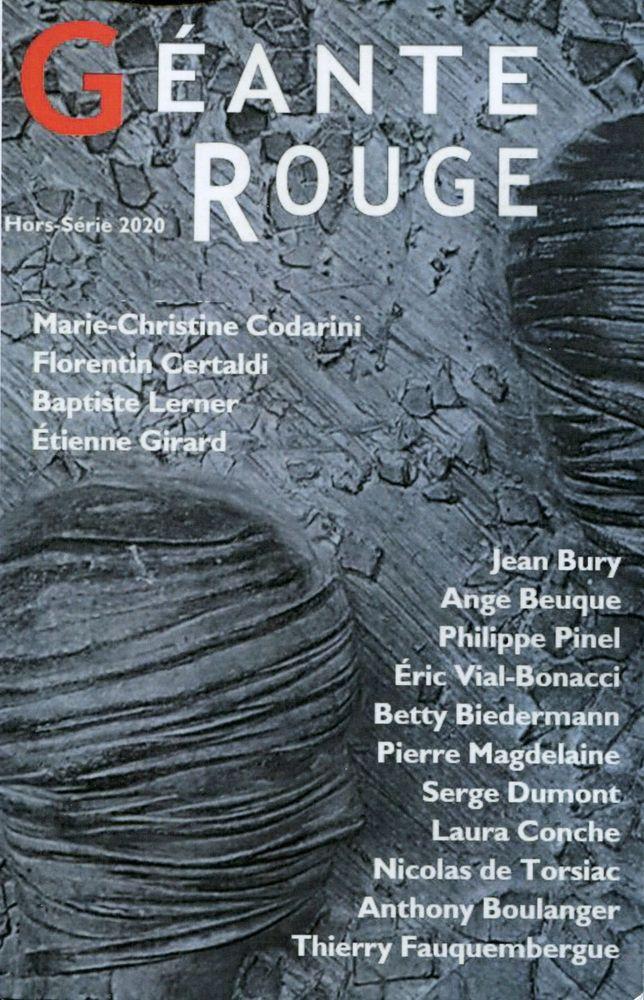 Géante Rouge Hors-série 2020