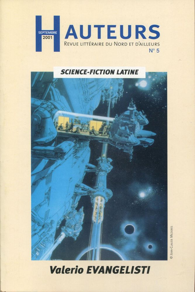 Hauteurs n° 5 : Science-fiction latine - Valerio Evangelisti
