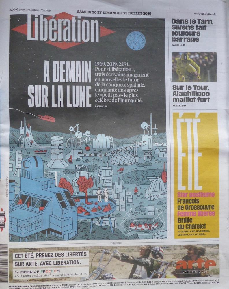 Libération n° 11859 - À demain sur la Lune