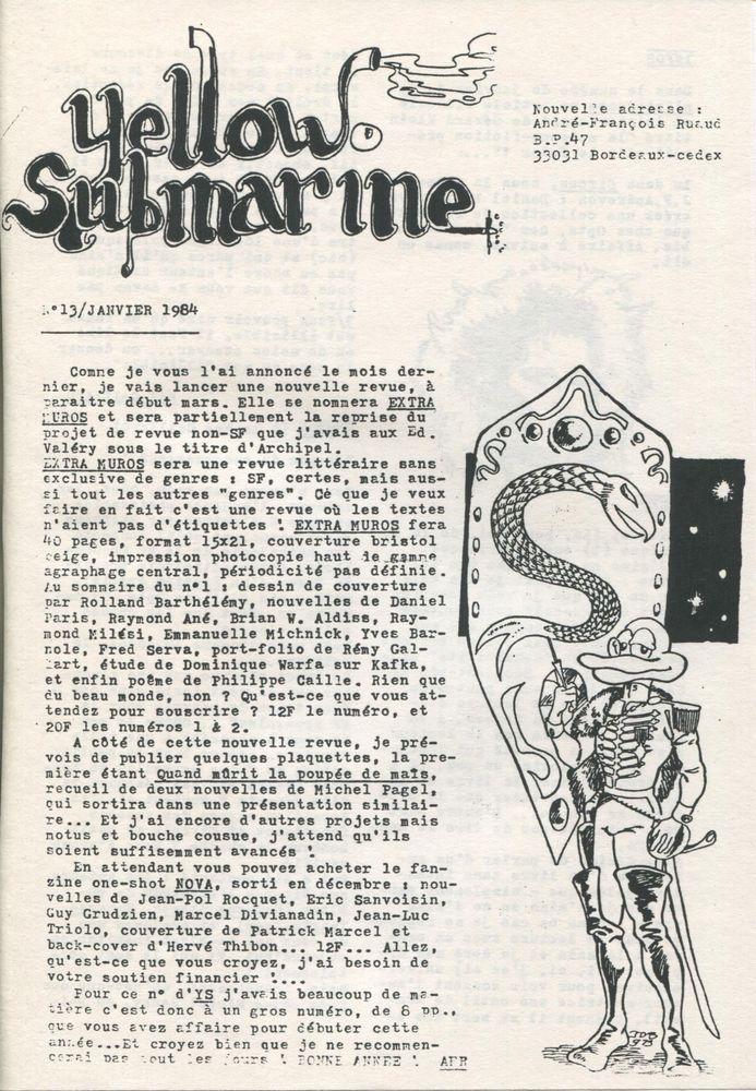 Yellow Submarine n° 13