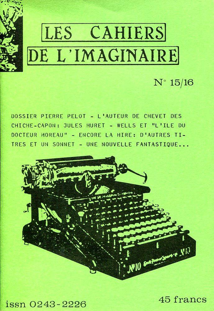 Les Cahiers de l'Imaginaire n° 15/16 : Pierre Pelot