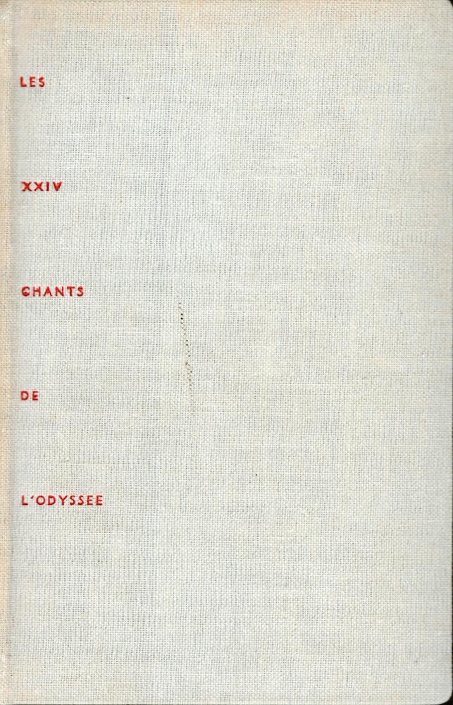 Les XXIV chants de l'Odyssée