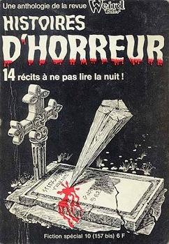 Fiction spécial n° 10 : Histoires d'horreur