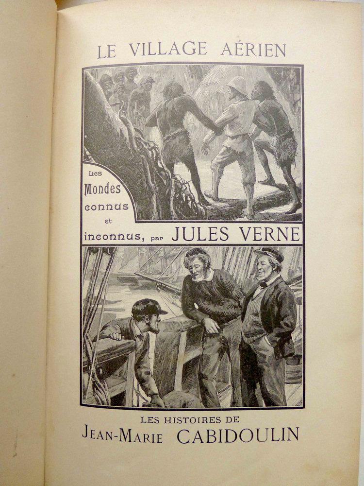Le Village aérien / Les histoires de Jean-Marie Cabidoulin