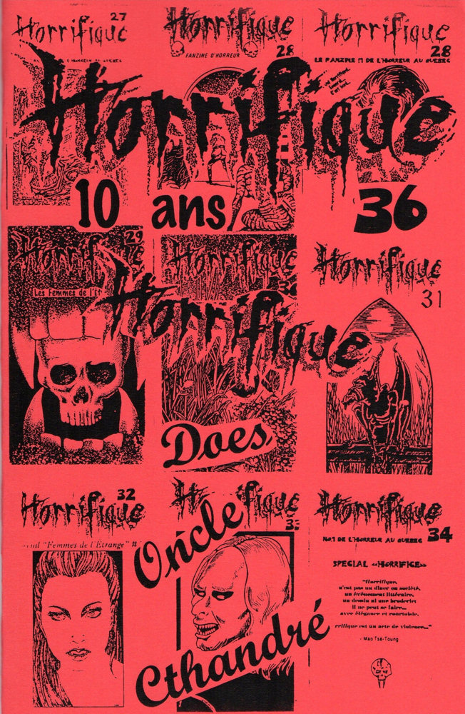 Horrifique n° 36