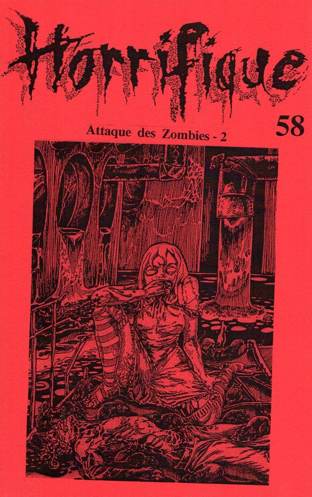 Horrifique n° 58 : Spécial Attaque des zombies - 2