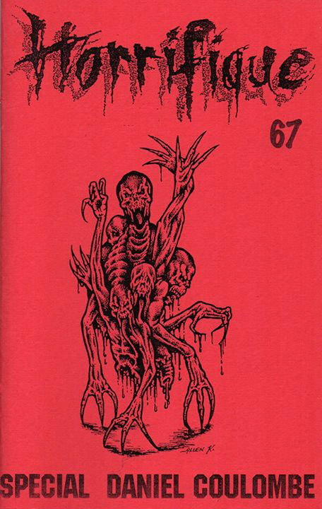 Horrifique n° 67 : spécial Daniel Coulombe
