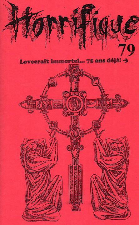 Horrifique n° 79 : spécial Lovecraft immortel... 75 ans déjà! -3