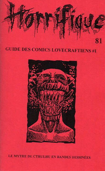 Horrifique n° 81 : spécial Guide des comics lovecraftiens #1