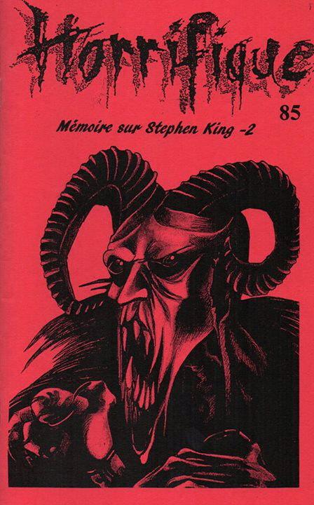Horrifique n° 85 : spécial Mémoire sur Stephen King - 2