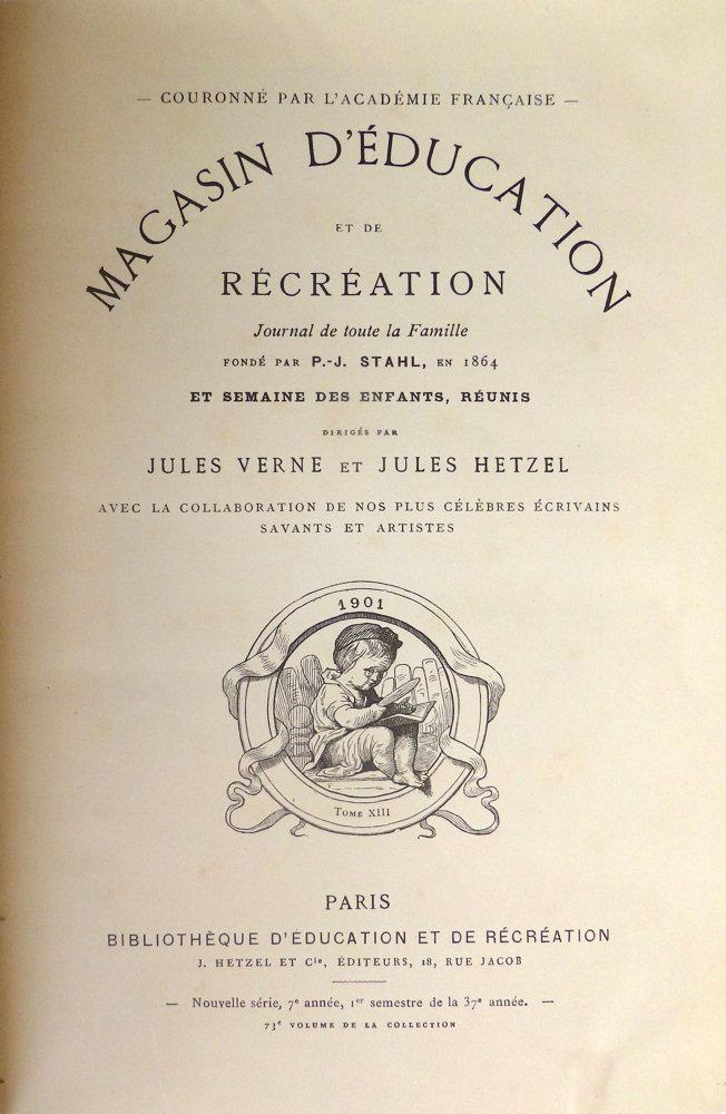 Magasin d'éducation et de récréation n° 73