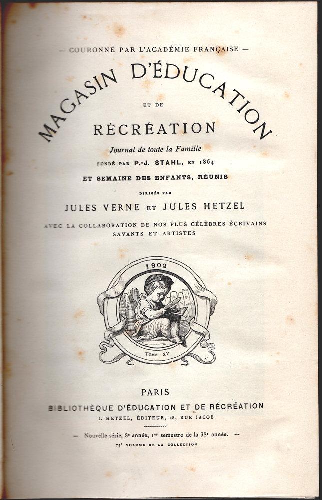 Magasin d'éducation et de récréation n° 75
