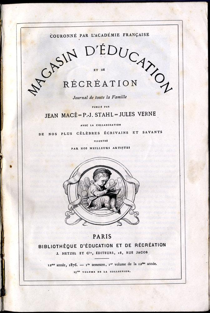 Magasin d'éducation et de récréation n° 23