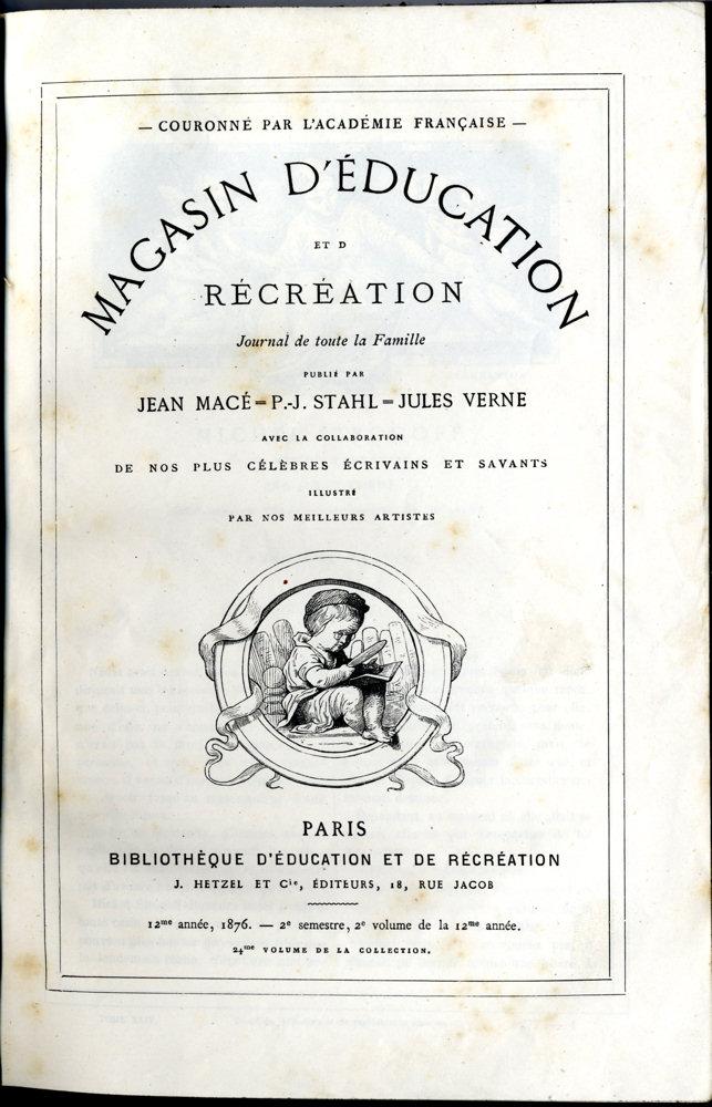 Magasin d'éducation et de récréation n° 24