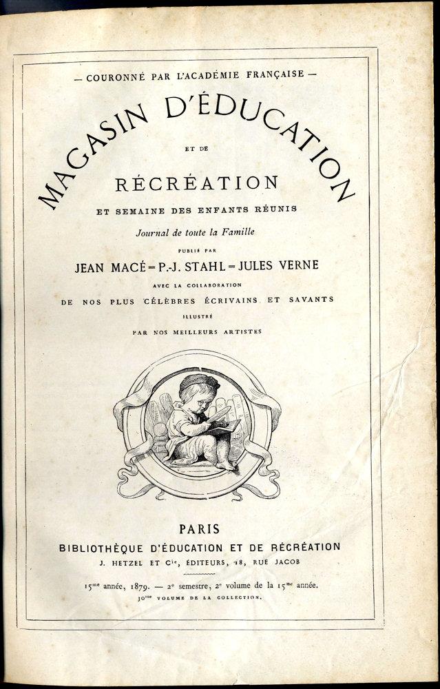 Magasin d'éducation et de récréation n° 30