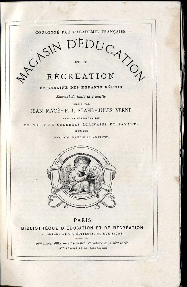 Magasin d'éducation et de récréation n° 31