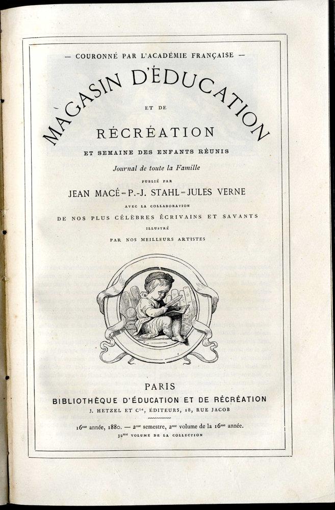 Magasin d'éducation et de récréation n° 32