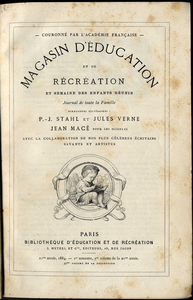 Magasin d'éducation et de récréation n° 39