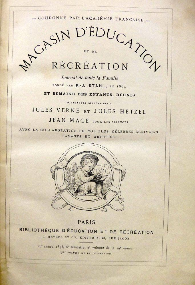 Magasin d'éducation et de récréation n° 58