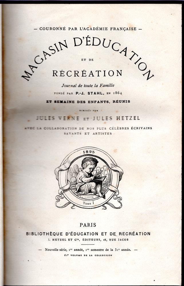 Magasin d'éducation et de récréation n° 61