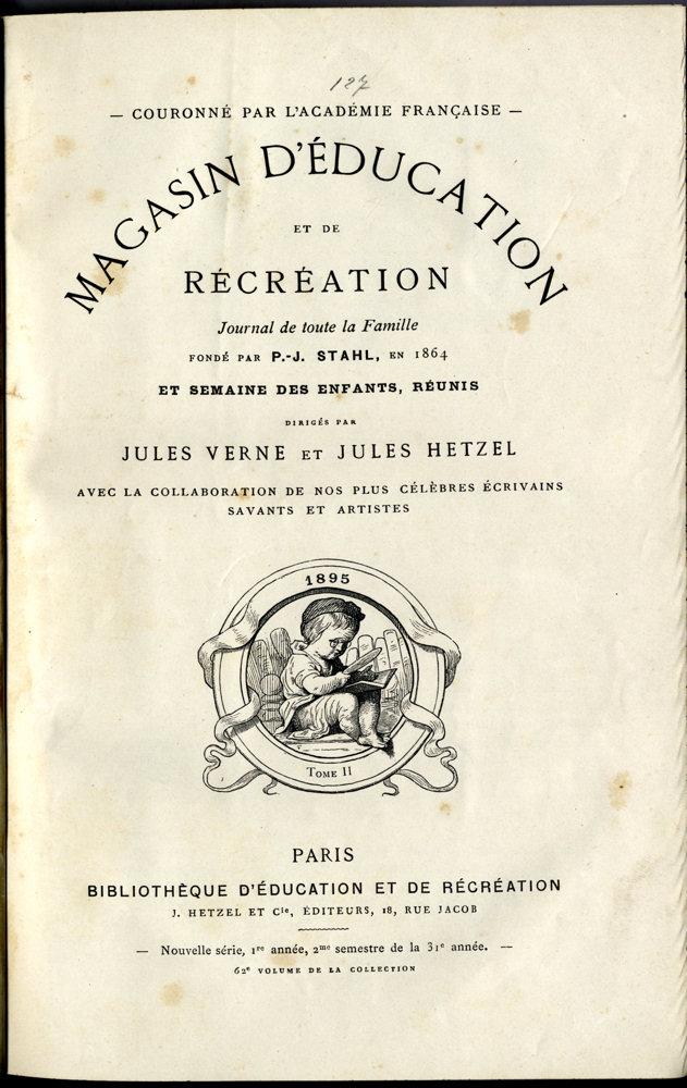 Magasin d'éducation et de récréation n° 62