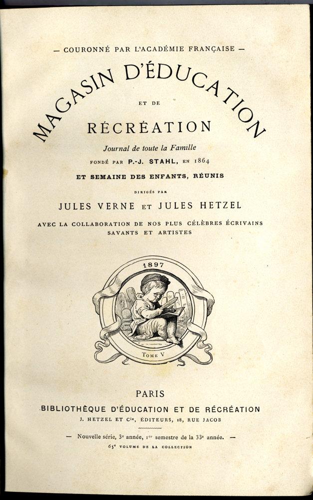 Magasin d'éducation et de récréation n° 65