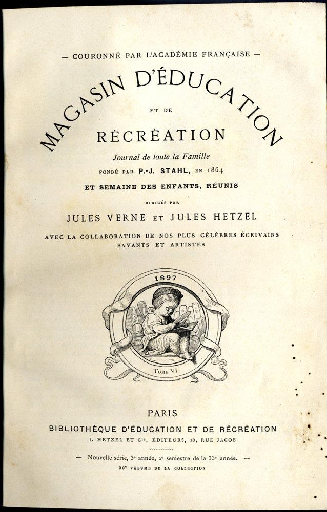 Magasin d'éducation et de récréation n° 66