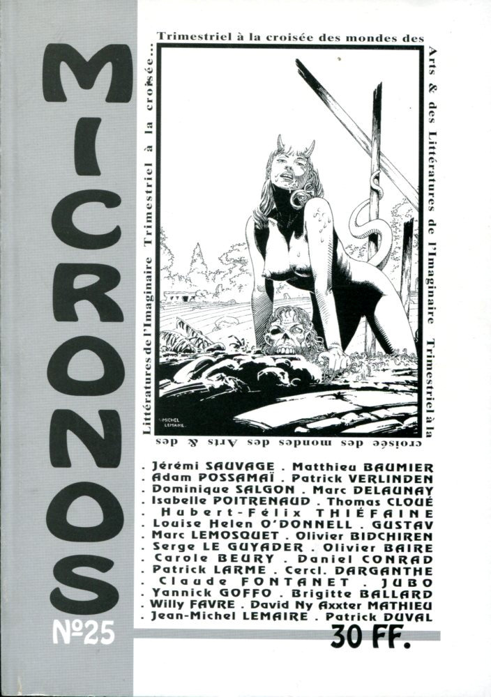 Micronos n° 25