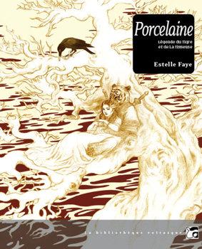 Porcelaine - Légende du tigre et de la tisseuse