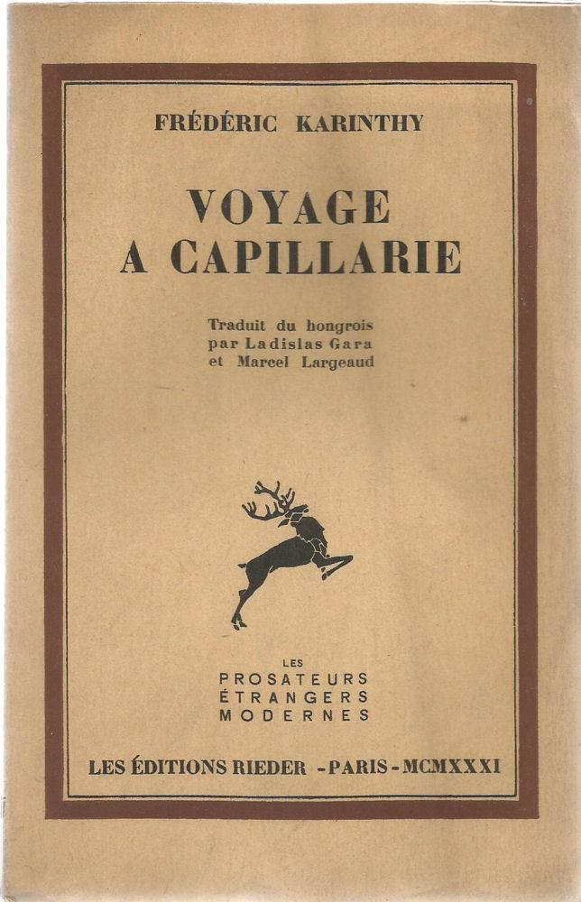 Voyage à Capillarie