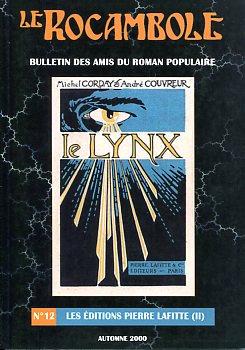 Le Rocambole n° 12 : Les éditions Pierre Lafitte [II]