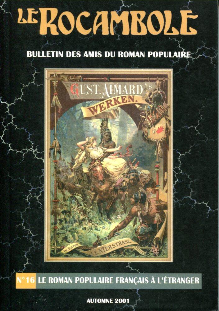 Le Rocambole n° 16 : Le roman populaire français à l'étranger