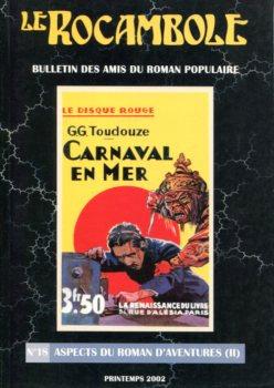 Le Rocambole n° 18 : Aspects du roman d'aventures (II)
