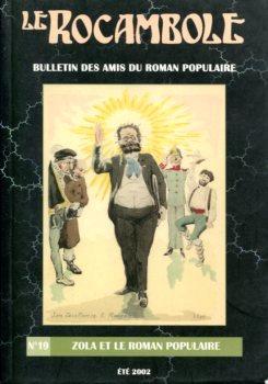 Le Rocambole n° 19 : Zola et le roman populaire