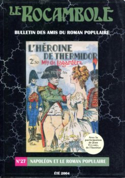Le Rocambole n° 27 : Napoléon et le roman populaire