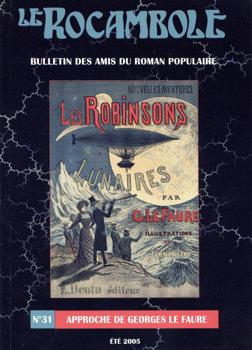 Le Rocambole n° 31 : Approche de Georges Le Faure