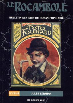 Le Rocambole n° 43/44 : Jules Lermina
